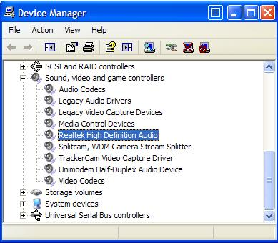 Audio Device Manager